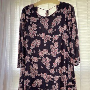Andree by Unit Floral Tunic / Dress - Size L